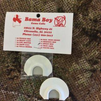 Bama's Best – double reed 1/2 chunk cut raspy – Bama Boy